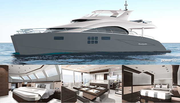 Only a few days after the much anticipated launch of the new power yacht, 60 Sunreef Power, the Sunreef shipyard has received its third order for this 2012 new model.