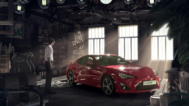 The eagerly awaited Toyota GT86 sports coupe will launch with a multi-million pound advertising campaign.