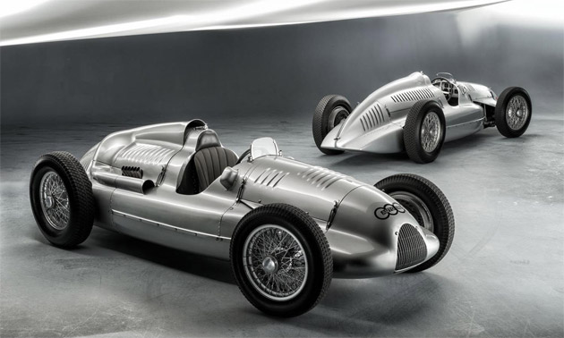 Home Again: The last auto union Type D Twin-Supercharger Silver Arrow Returns to Audi.