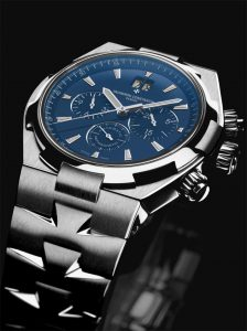 The flagship model in this collection, the Overseas Chronograph is given a new expression this year with this steel variation enhanced by a deep blue dial. With its caseback distinguished by a raised motif depicting the historical Amerigo Vespucci sailboat, this Haute Horlogerie chronograph echoes all the distinctive codes and characteristics which, right from the time of its launch in 1996, have contributed to forging the strength of this technical and sporting line.