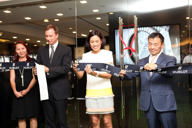 After five recent openings last August, in Hong Kong on Causeway Bay, Abu Dhabi in the Marina Mall, China on Shanghai's West Nanjing Road and in the cities of Dalian and Nanjing, the luxury Swiss watch brand, Hublot, has opened their first Mongolian boutique in Ulaanbaatar.