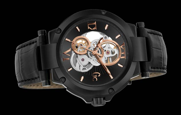 Gc introduce the new sophisticated Gc-4 15th Anniversary Limited Edition Swiss Made mechanical watch with skeletal movement to celebrate its 15th anniversary.