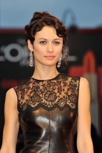 Olga Kurylenko Hits The Venice Film Festival Red Carpet In Dazzling David Morris Diamonds. 4