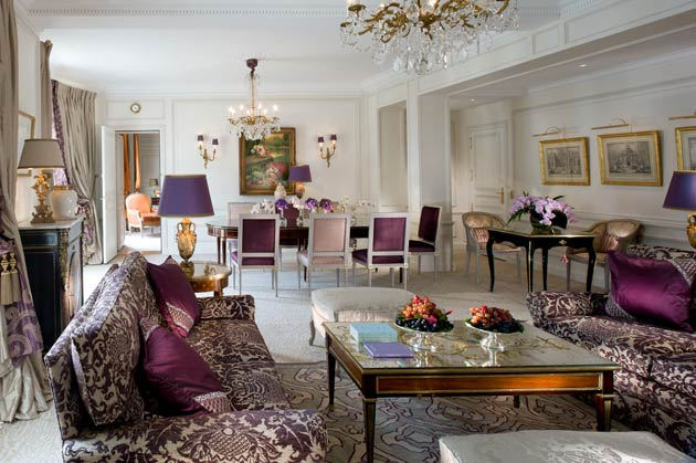 Dorchester Collection's Hôtel Plaza Athénée in Paris presents its newly renovated Royal Suite redesigned by Marie-José Pommereau.