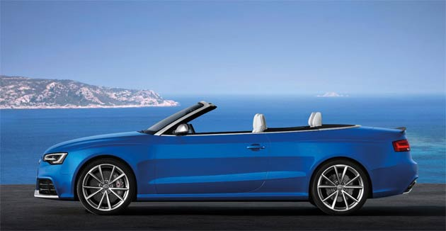 As parts of Europe basks in Indian summer sunshine Audi has just very appropriately removed the wraps from its most exhilarating RS convertible to date – the new 450PS RS 5 Cabriolet.