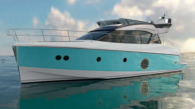 It is official; Nuvolari & Lenard are currently working on the design of a new Beneteau Monte Carlo 5 range at Beneteau. It will cover the less than 60 foot luxury 'Motor Cruisers Flybridge' segment. This new Monte Carlo range will be the fruit of a special collaboration between Beneteau's design office - whose knowhow in the design of the hulls is second to none - and the designers, Nuvolari & Lenard, who will lend their unique talent to the style, as well as the whole interior layout.