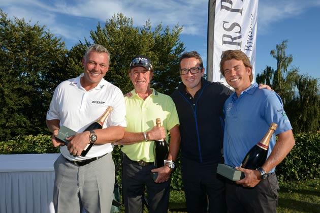 Audemars Piguet Golf Trophy 2012, Bonmont, Switzerland - Darren Clarke, Miguel Angel Jiménez, François-Henry Bennahmias &  Julien Clément