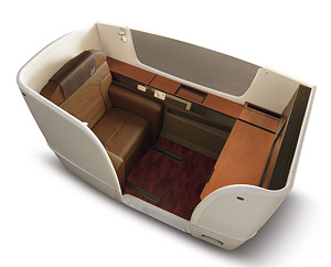 JAL Launches All-New First and Business Class Services, Starting January 2013 on International Routes