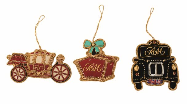 Christmas bazaar 2012 launches at fortnum mason based on - Fortnum and mason christmas decorations ...