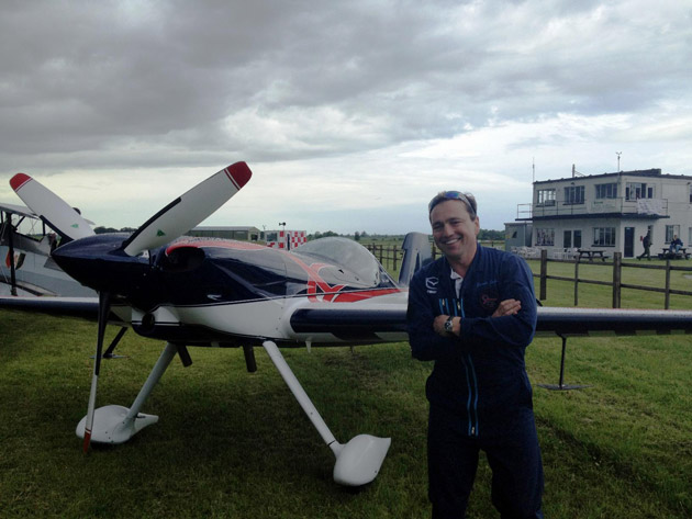 Lincolnshire-based air display and competition pilot Gerald Cooper, managing director of Wickenby Aerodrome, has become the first ever Brit to receive a gold medal in Unlimited aerobatics in the history of aerobatic sport flying.