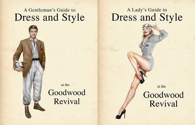 Goodwood to launch the definitive guide to vintage dress and style at the 2012 Goodwood Revival