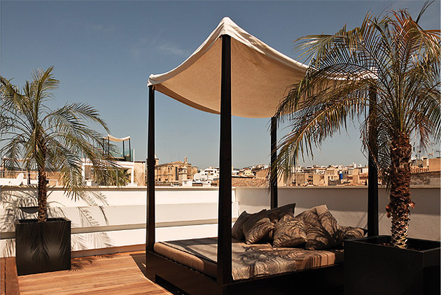 Four luxurious properties in Italy, Spain and France where historic building blend with modern interiors.