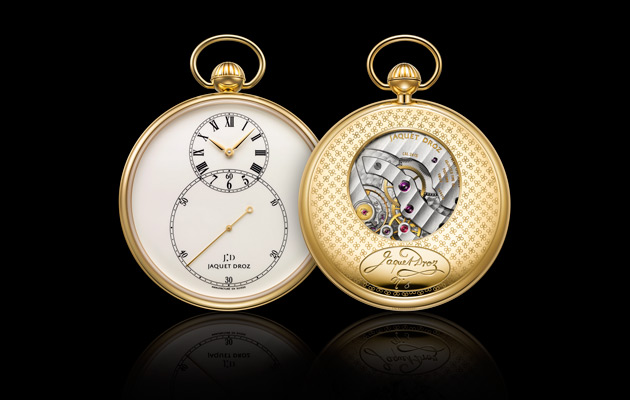 The Jaquet Droz Pocket Watch Ivory Enamel, A Watchmaking Myth.