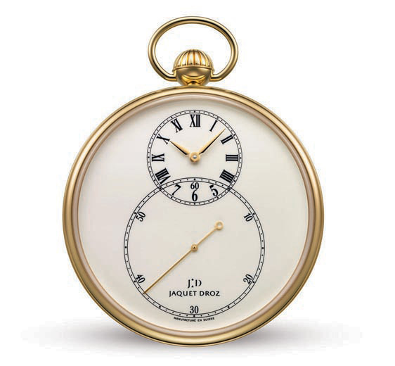 Eminently literary and utterly romantic... These days, the pocket watch invites the modern man to embrace its legend: its refined shape, the sense of a continuing mystery on which all eyes come to rest as it appears out of the silk lining of a jacket or from the depths of a waistcoat...