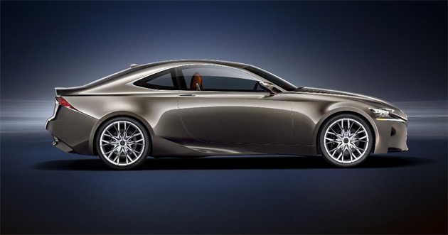 Lexus will unveil the LF-CC for the first time at the Paris motor show, a new mid-size coupe concept that presents design and technology ideas that will influence future models.