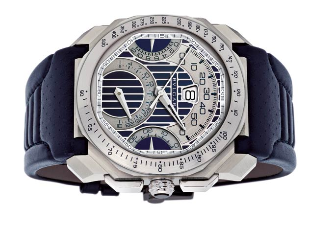 the special edition Bulgari Octo Maserati watch.