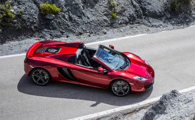 As an ambassador of the 'Make Britain GREAT' campaign, the 12C Spider will be driven by British actor Henry Cavill, star of the latest Superman film, entitled 'Man of Steel'.The GREAT campaign is designed to re-affirm Britain's international reputation and deliver long-term economic benefits through additional tourism, trade and education.