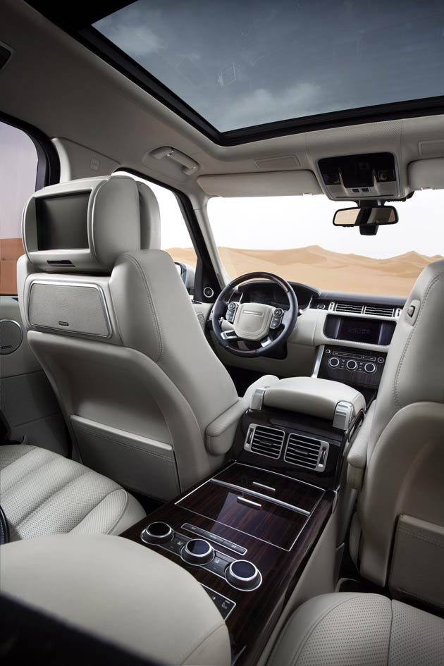 the all new range rover is revealed their most refined luxurious and capable suv to date. Black Bedroom Furniture Sets. Home Design Ideas