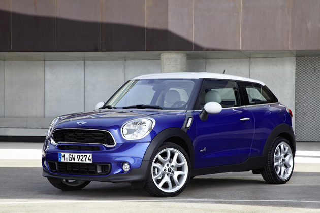 The All New Mini Paceman, the seventh unique member of the Mini Family and scheduled for launch in 2013.