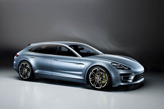 Porsche is presenting the Panamera Sport Turismo concept car to show how amazingly intelligent and efficient drive technology might look in the design language of tomorrow.
