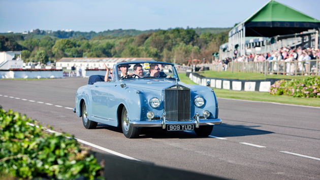 The local manufacturer of super luxury motor cars hosted customers, prospects and VIPs and also entertained the thousands of visitors to the world's most popular historic motor race meeting in true Rolls-Royce style.