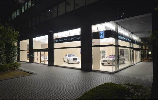 Rolls-Royce Motor Cars announced today that a strong interest in the company's super luxury cars has resulted in the marque opening increased retail space in Tokyo and a new presence in Osaka, in addition to an upgraded showroom in Yokohama.