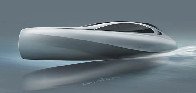 Silver Arrows Marine (SAM), a new UK-registered company with international backers and offices in London and Monaco, in collaboration with Mercedes-Benz Style, has unveiled designs for a new 14-metre luxury motor yacht, which fuses marine and automotive influences.