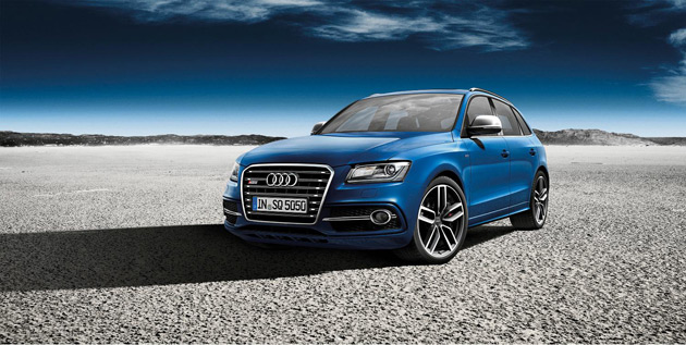 The Limited edition SQ5 TDI SUV Concept created by Audi high performance division quattro GmbH.