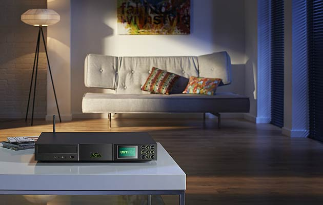 Big on features, light on size: the Naim Audio UnitiLite covers all home audio needs in one sleek unit