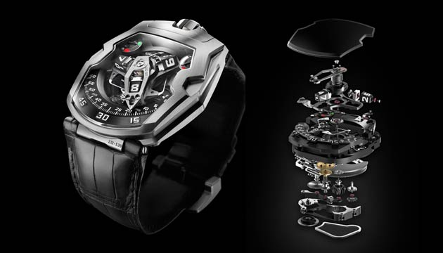 The Urwerk UR-210: Never has a timepiece displayed such feedback and attachment to its owner.