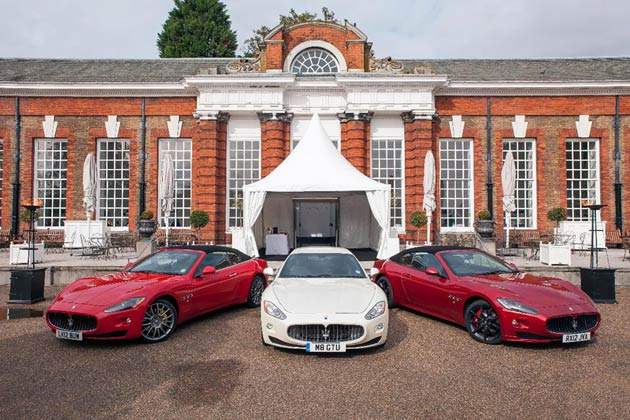 Maserati and Argyle Pink Diamonds host the Out of the Vault exhibition at Kensington Palace, London.