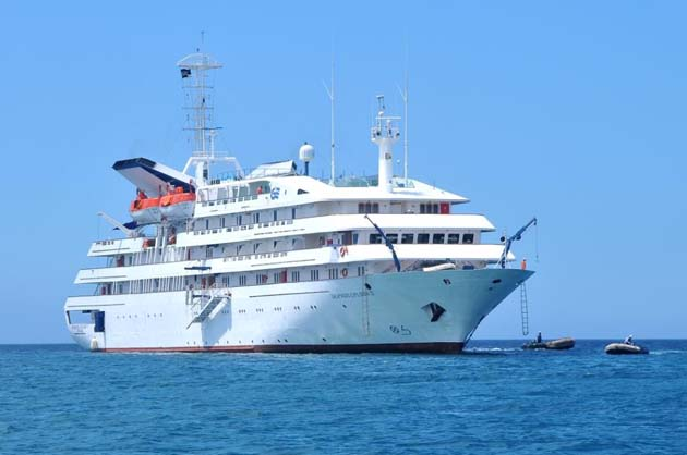 Silversea Names Second Expedition Ship As Silver Galapagos. - Galapagos Canodros copyright 2012 ILTM