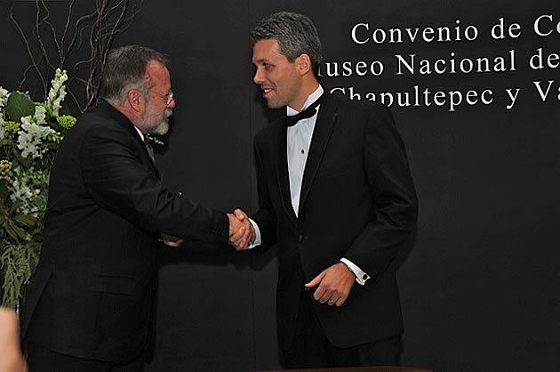 Master Salvador Rueda Smithers and Julien Marchenoir