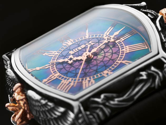 Daniel Strom introduces the Angelus Wrist Watch, instilled with the Spirit of his Agonium Collection.