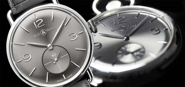 The Bell & Ross PW1 & WW1 time pieces with a new oxidation resistant alloy, Argentium® case.