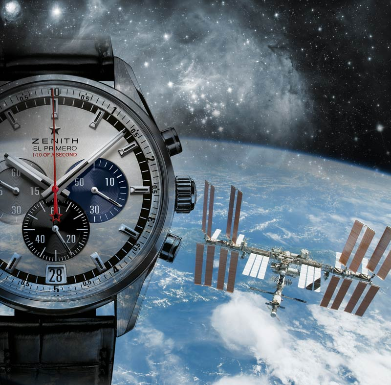 Accuracy and reliability have been the watchwords of the Manufacture Zenith, manufacturer of navigational chronometric instruments for civil and military aviation since 1865. The fact that one of its timepieces will be the first to break the sound barrier in a near space environment with Felix Baumgartner will once again prove the brand's reliability under extreme conditions.