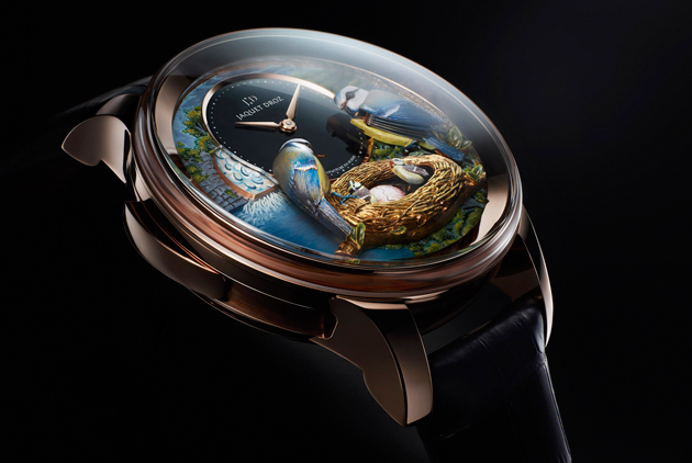 The extraordinary Jaquet Droz Bird Repeater wrist watch - A dream in many dimensions.