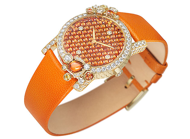 The jewelled Bee wrist watch from the Chaumet Attrape-moi… si tu m'aimes collection