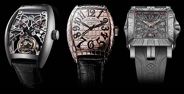 "In a world première, the Franck Muller brand launched its ""Tourbillon Thunderbolt"" which is the fastest ever to be created. With a rotation every five seconds, its revolution is 12 times faster than other tourbillon complications on the market. Famous Italian couturier, Roberto Cavalli, with whom watchmaking genius, Franck Muller, has entered into a partnership, also attended the event."