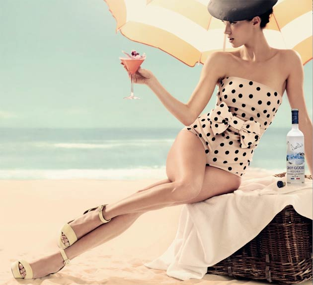 Cote D'Azur Summer Theme For Sixth Grey Goose Winter Ball In Aid Of Elton John AIDS Foundation