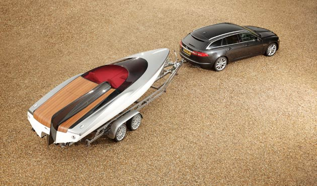 The 20' Concept Speedboat by Jaguar Cars, infused with Jaguar luxury and DNA