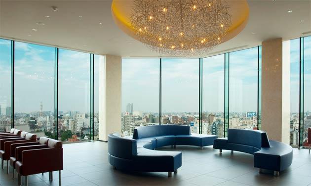 The Gate Hotel Kaminarimon in Asakusa, Tokyo, a haven for art and creativity.