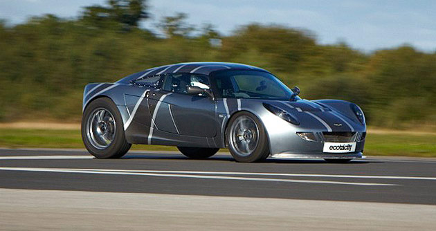 Electric Dream Lotus Based Nemesis Smashes Electric Car