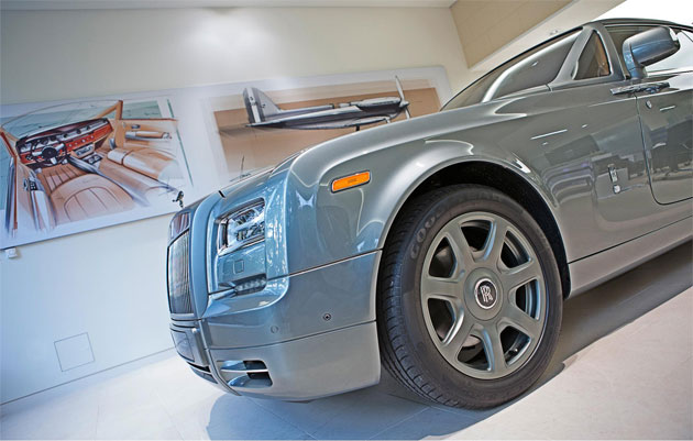 Rolls-Royce Motor Cars launched the Company's newly refurbished London showroom in Berkeley Square.