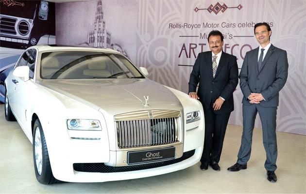 Rolls Royce Motor Cars Appoint Navnit Motors As An