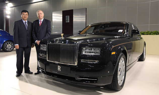 Rolls-Royce Motor Cars announce the single largest order