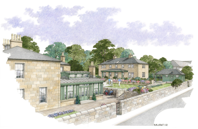 An eight-bedroom country house hotel is set to become one of Scotland's finest luxury retreats when it opens its doors to guests in June 2013.