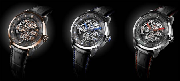 Christophe Claret presents the Soprano tourbillon minute repeater with four cathedral gongs 4