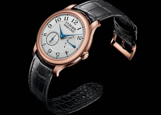 "The Chronomètre Souverain F.P.Journe acclaimed ""Best Men's Watch 2012"" at the European 2012 Watch of the Year"