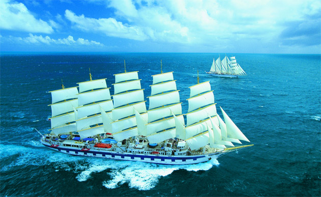 The graceful tall ships in the Star Clippers' fleet provide an exceptionally romantic setting for lovers, for a honeymoon, marriage blessing, anniversary or other romantic voyage.